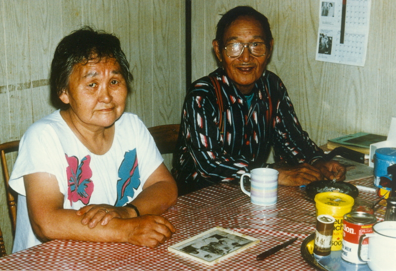 https://arrl-web002.artsrn.ualberta.ca/icrc/201801-upload/Qikiqtaruk - Herschel Island- Cultural Study/Fred and Lucy Inglangasuk- Herschel Island Cultural Study- Aklavik- July 1990-Yukon Heritage Branch.jpg