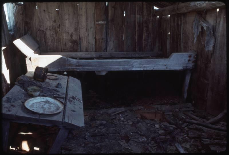 North end of Cape Parry, inside whaler's hut (Sept '76) (2)0.jpg