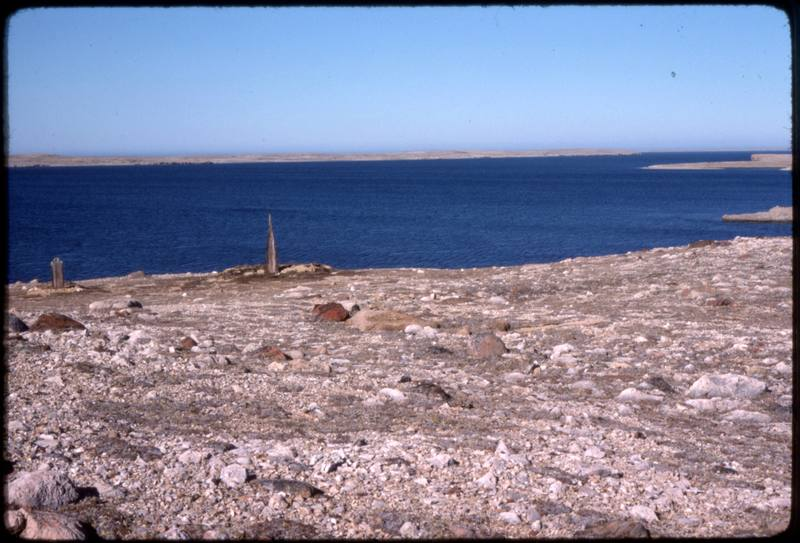 North end of Cape Parry, area around old whaler's site, gravesites (Sept '76)0.jpg