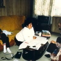 https://arrl-web002.artsrn.ualberta.ca/icrc/201801-upload/Qikiqtaruk - Herschel Island- Cultural Study/Herschel Island Cultural Study Murielle Nagy and Renie Arey interviewing Big Joe Nasogaluak in Tuktoyaktuk-July 1990-Yukon Heritage Branch.jpg
