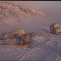 Hornaday River Camp blown down by big storm (Nov '73)0.jpg