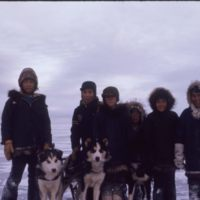 Paulatuk kids on nearby ice (Nov '73)0.jpg