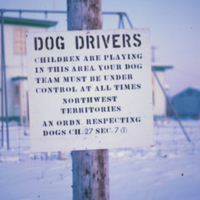 Notice to Dog Drivers