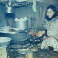 Baking Bannock