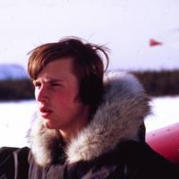 Geoffrey Hunt With Plane