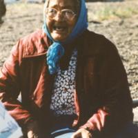 https://arrl-web002.artsrn.ualberta.ca/icrc/201801-upload/Qikiqtaruk - Herschel Island- Cultural Study/Herschel Is- Cultural Study- Kathleen Hansen at Shingle Pt-1990- Yukon Heritage Branch.jpg