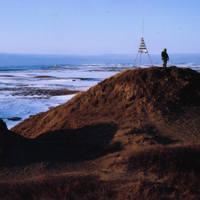 Navigation Beacon at the Coast Line