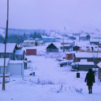 Winter in Fort McPherson