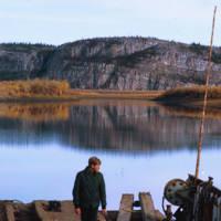 A Barge on the Mackenzie River