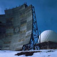 DEW Line Radar Dish