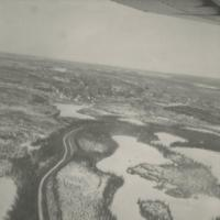 Aerial photo of a Creek