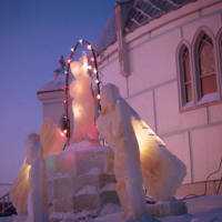 Father André's Ice Sculptures