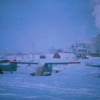 Winter on the Mackenzie River
