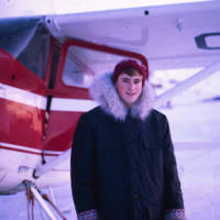 Fraser Hunt and Plane
