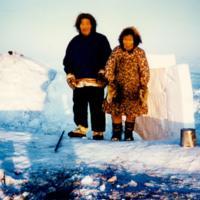 Louie Uniyak & wife Lucy Utuayuq
