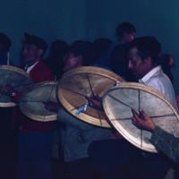 Drummers Standing
