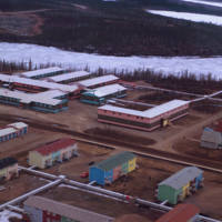 Aerial View of Inuvik