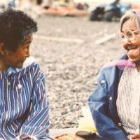 https://arrl-web002.artsrn.ualberta.ca/icrc/201801-upload/Qikiqtaruk - Herschel Island- Cultural Study/Herschel Is- Cultural Study- Sarah Meyook and Dora Malegana at Shingle Pt- 1990-  Yukon Heritage Branch.jpg