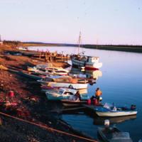 Boats on The Mackenzie River