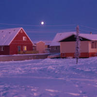Inuvik at Dawn
