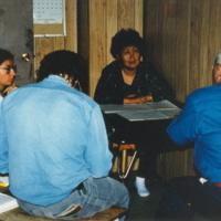 https://arrl-web002.artsrn.ualberta.ca/icrc/201801-upload/Qikiqtaruk - Herschel Island- Cultural Study/Herschel Is- Cultural Study- Renie Arey interviewing Albert Oliver with Murielle Nagy and Bill Schneider in Aklavik-July 1990 Yukon Heritage Branch.jpg