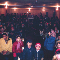 Photograph of an Audience at the Movies